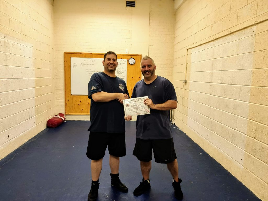Get your Rapid Assault Tactics Certification on our Martial Arts Instructor Training course