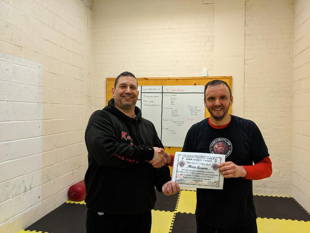 Rapid Assault Tactics Certification course in the UK